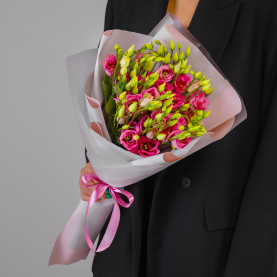 9 Розовых Эустом фото