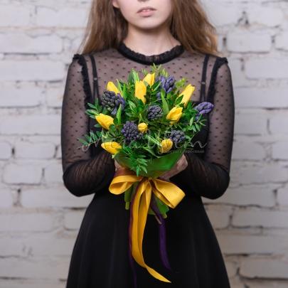 9 Тюльпанов гиацинт фото