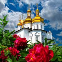 Цветы в церковь