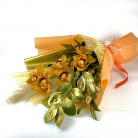 Ветка Карамельной Орхидеи