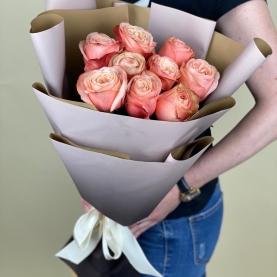 9 Роз Кахала (60 см.) фото