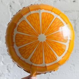 """Воздушный Шар """"Апельсин"""" (Круг, оранжевый) фото"""