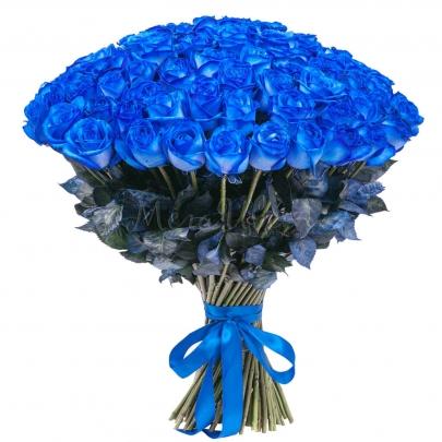 151 Синяя Роза (70 см.) фото