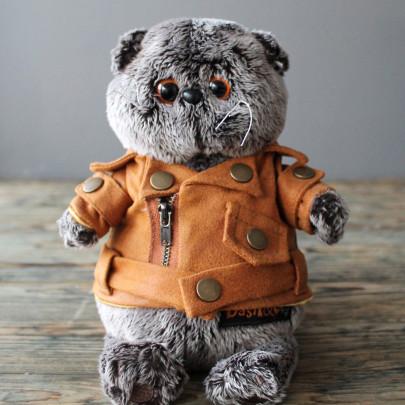 Мягкая игрушка Басик в куртке-косухе (22 см.) фото