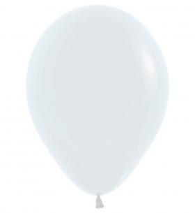 """Воздушный Шар """"Белый"""", Пастель"""