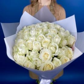 Букет Из 51 Белой Розы фото