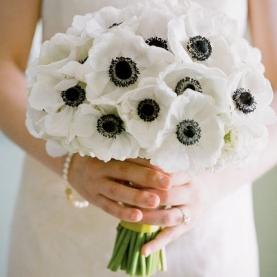 """Букет невесты """"Анемон"""" фото"""