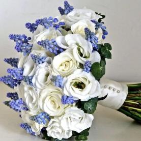 """Букет Невесты """"Голубоглазка"""" фото"""