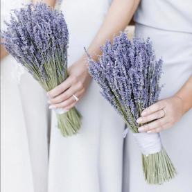 Букет Невесты Из Лаванды фото