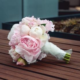 """Букет невесты """"Пион"""" фото"""