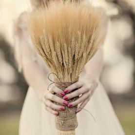 Букет Невесты Из Злаков фото