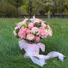 """Букет невесты """"Розовый"""" фото"""