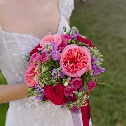 """Букет невесты """"Пионовидный"""" фото"""
