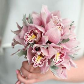 """Букет Невесты """"Розовая Орхидея"""" фото"""