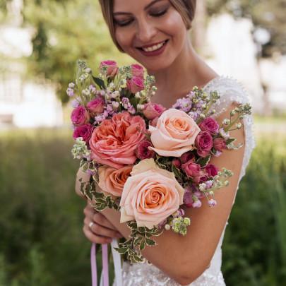 """Букет невесты """"Роза"""" фото"""