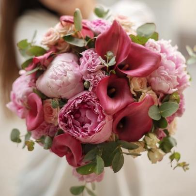 """Букет невесты """"Яркий"""" фото"""