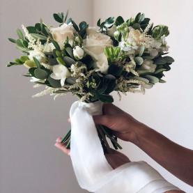 """Букет Невесты """"Зеленый"""" фото"""