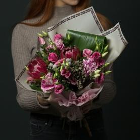 "Букет ""Розовая Протея"" фото"
