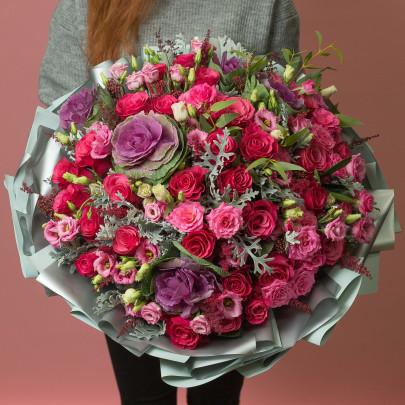 "Букет ""Яркий Розовый"" фото"