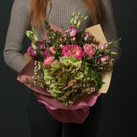 """Букет """"Зелёно-Розовый"""" фото"""