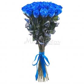 25 Синих Роз фото