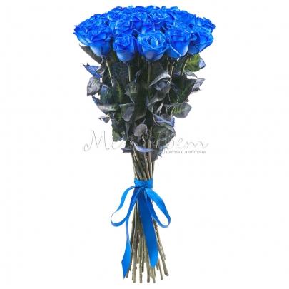 25 Синих Роз Premium фото