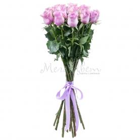 15 Сиреневых Роз фото