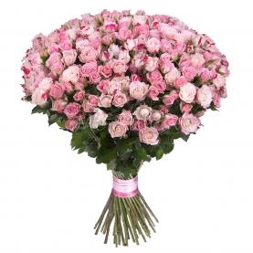 75 Кустовых Роз фото