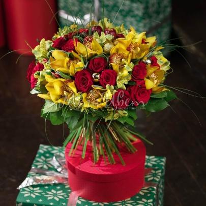 Букет Цвет Нового Года фото