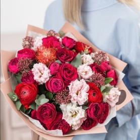 Букет День Валентина фото