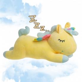 Мягкая игрушка Единорог желтый (44 см.) фото