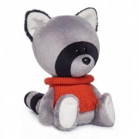 Мягкая игрушка Енот Лека в свитере (15 см.) фото