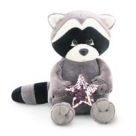 Мягкая игрушка Енотик Дэйзи: Розовая звезда (20 см.) фото