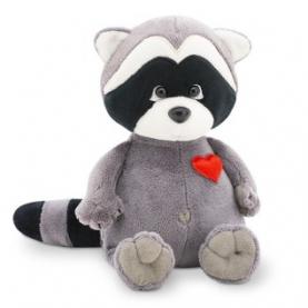 Мягкая игрушка Енотик Дэйзи: Влюбленное сердце (15 см.) фото