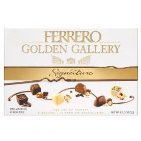 """Набор Шоколадных Конфет """"Ferrero Golden Gallery Signature"""" Ассорти 122 г фото"""