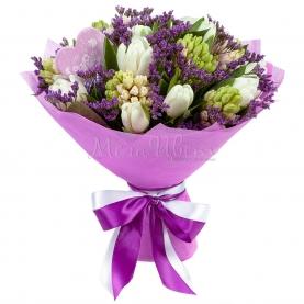 Букет Фиолетовый Бархат фото
