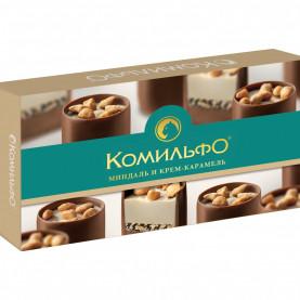 Конфеты Комильфо Миндаль и Крем-Карамель фото