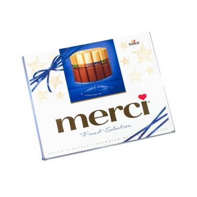Конфеты Merci Ассорти Молочный Шоколад фото