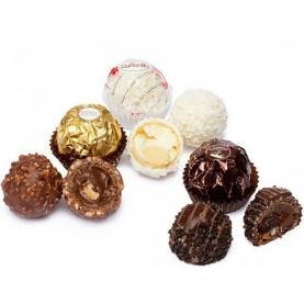 Конфеты Mix (Raffaello/Ferrero Rocher) 1 шт. фото