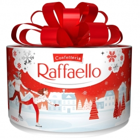 "Конфеты ""Raffaello"" торт мини 100 гр. фото"