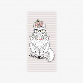 """Конверт для денег """"Королева"""" кот с короной фото"""