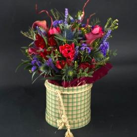 """Коробка цветов """"Флер"""" фото"""