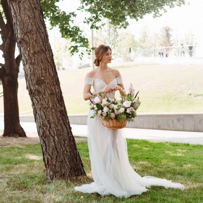 "Корзина ""Свадебная"" фото"