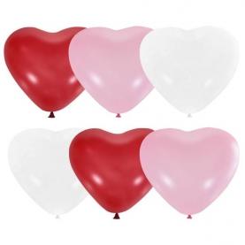 Воздушный Шар Красное Сердце латексный фото
