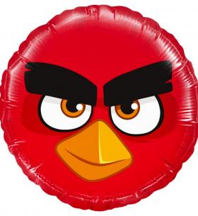 """Воздушных Шар """"Круг"""", Angry Birds (Красный)"""