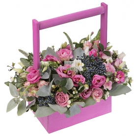 Корзина цветов Майтай фото