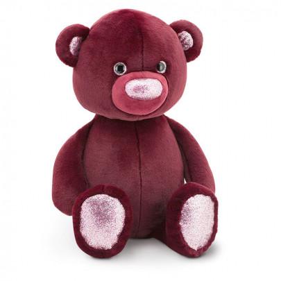 Мягкая игрушка Медведь бордовый (22 см.) фото