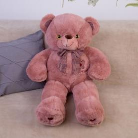 Мягкая игрушка Медведь малиновый (90 см.) фото