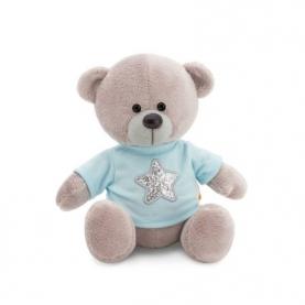 Мягкая игрушка Медведь Топтыжкин серый: Звезда (17 см.) фото