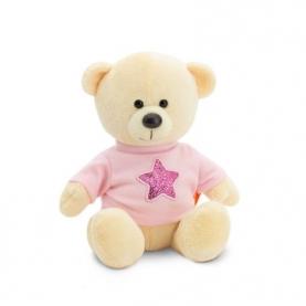Мягкая игрушка Медведь Топтыжкин жёлтый: Звезда (17 см.) фото